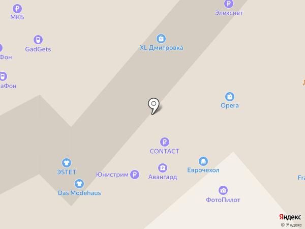 Клинок на карте Москвы