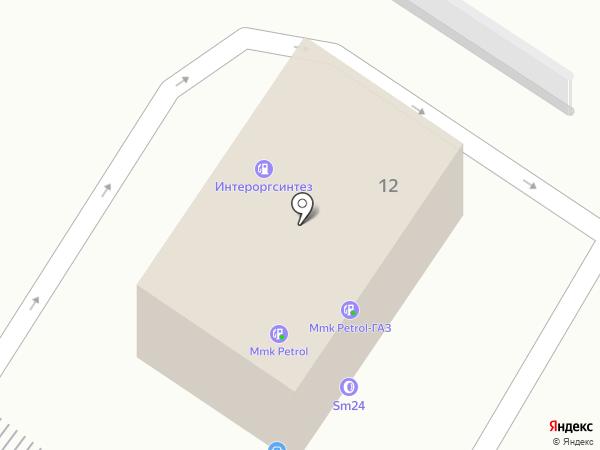 Автостоянка №247 на карте Москвы
