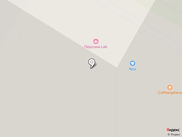 Родной город. Воронцовский парк на карте Москвы