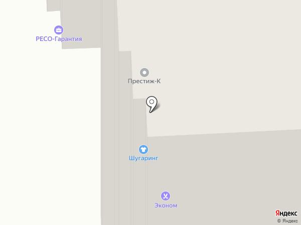 Ретро Подольск на карте Подольска