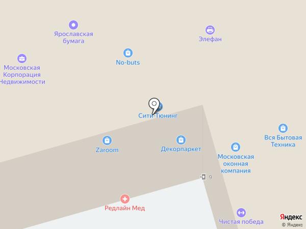 МИР ЛЕСТНИЦ на карте Москвы