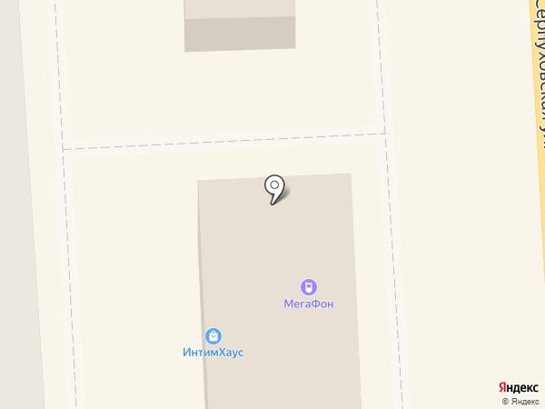 Избёнка на карте Подольска