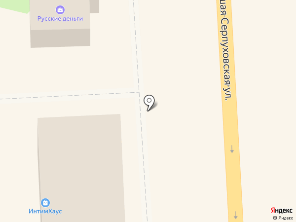 Магазин продуктов на карте Подольска