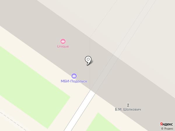 МБИ-Подольск на карте Подольска