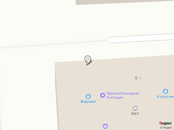 Questo на карте Подольска