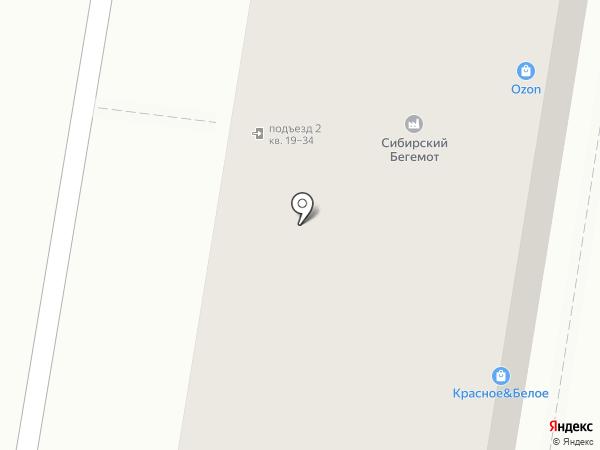 Новый Мебельный на карте Тулы