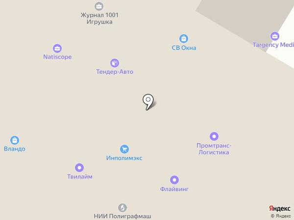 Полиграфмаш на карте Москвы