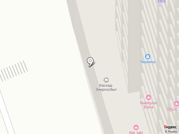 Каскад-Энергосбыт на карте Москвы