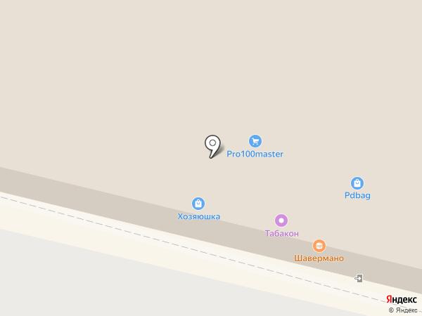 Магазин сантехники на карте Подольска