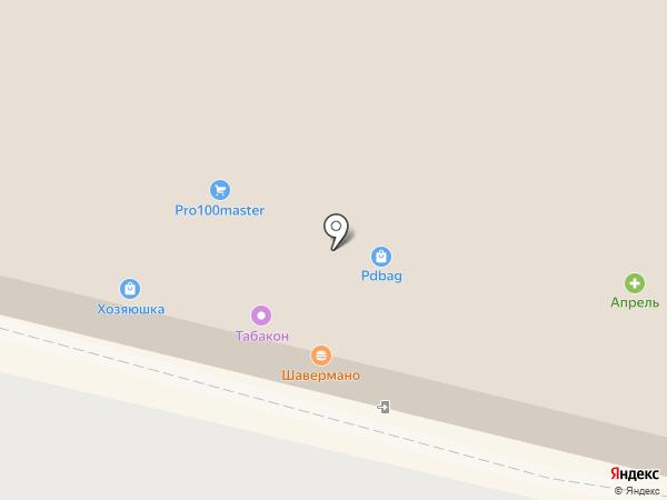 Хозяюшка на карте Подольска