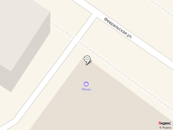 Миал на карте Подольска