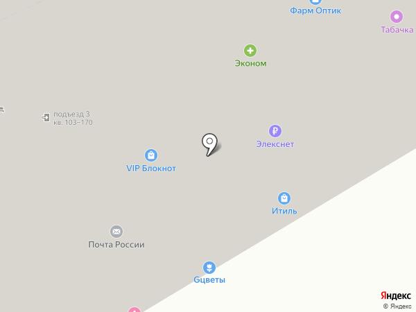 Город академиков на карте Москвы
