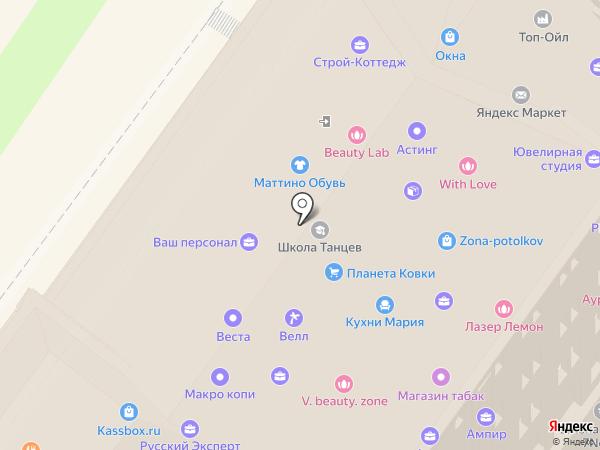 XL на карте Подольска