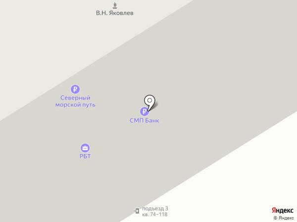 Демпф-Спорт на карте Москвы