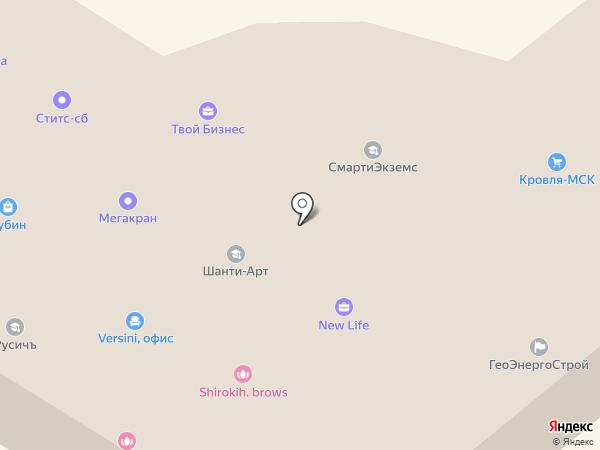 Белый Город на карте Подольска
