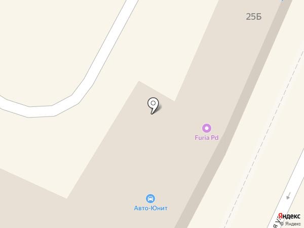 AUTO-UNIT на карте Подольска