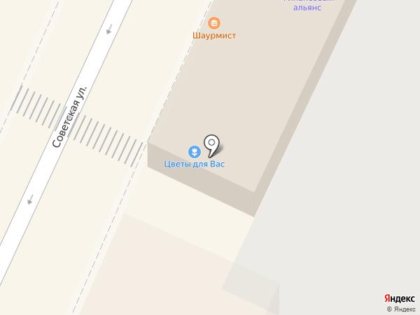 Магазин фастфудной продукции на карте Подольска