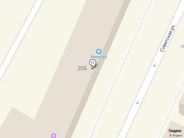 Минутка на карте Подольска