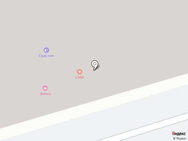 ЭПОСС на карте Москвы