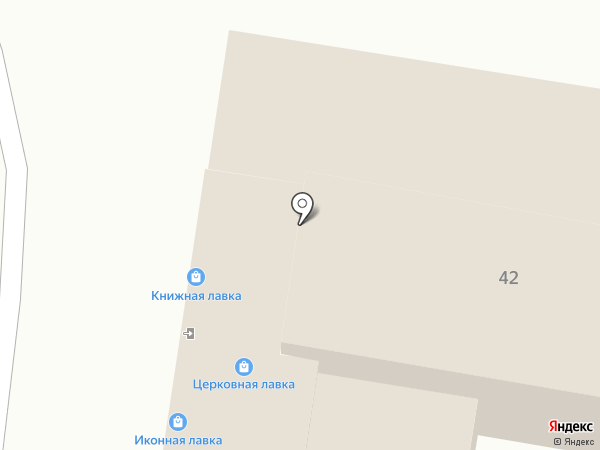 Книжная лавка на карте Москвы