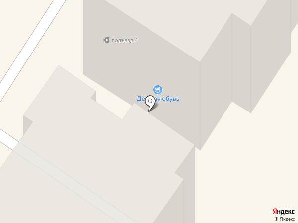Принтографф на карте Подольска