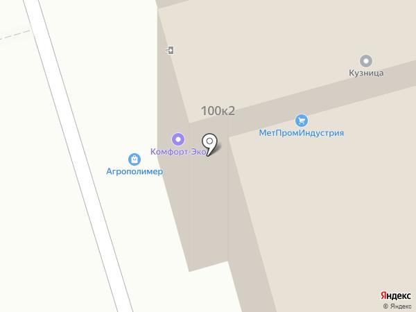 ФлайЛинк на карте Москвы