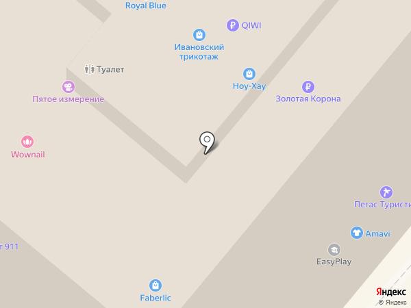 Флоренция на карте Москвы