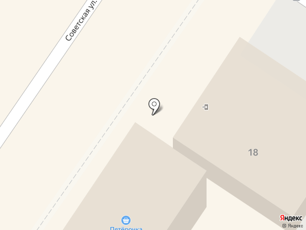 Мясницкий ряд на карте Подольска