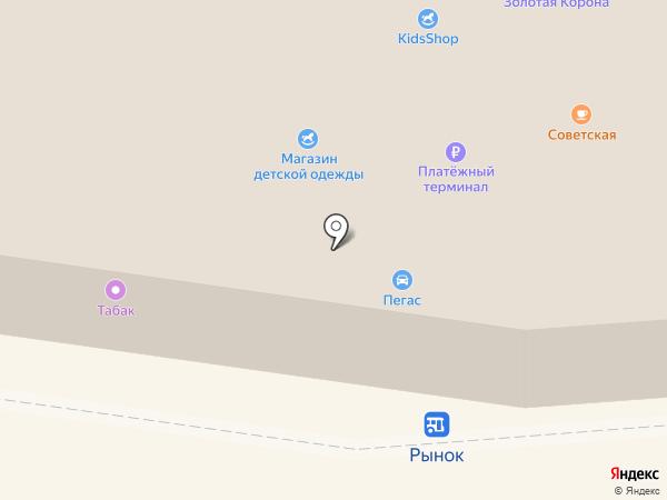 DNS на карте Подольска