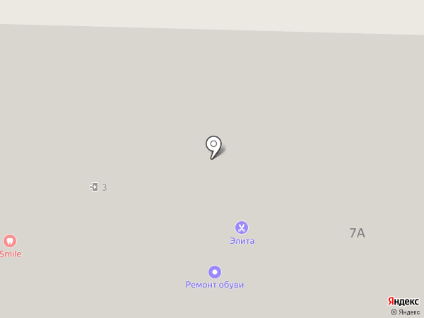 Элита на карте Подольска