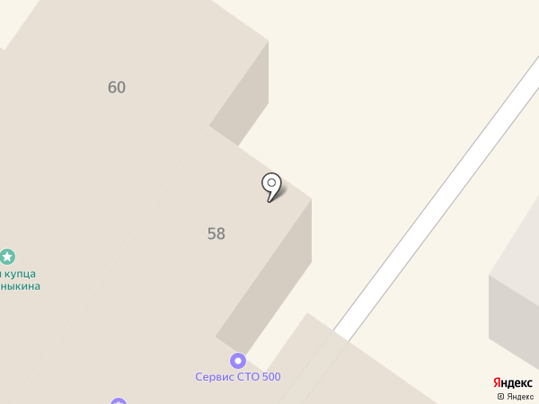 СТО 500 на карте Подольска