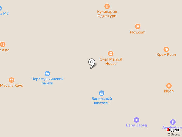 Форте на карте Москвы