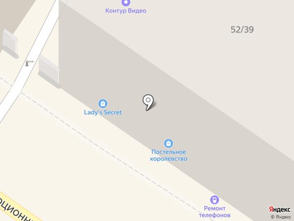 Салон одежды на карте Подольска