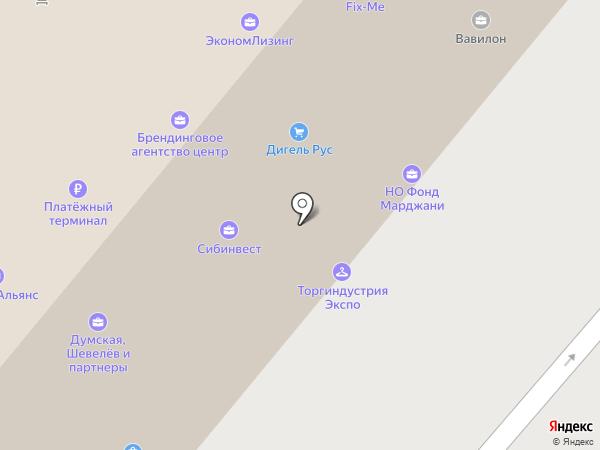 А.С.М. на карте Москвы