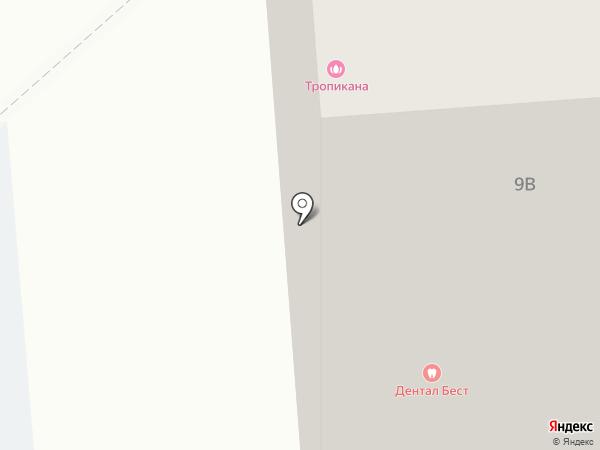 Tropicana на карте Подольска