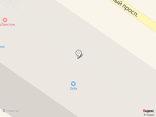 Zolla на карте Подольска