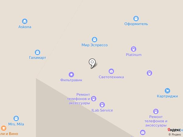 FixUnit на карте Москвы