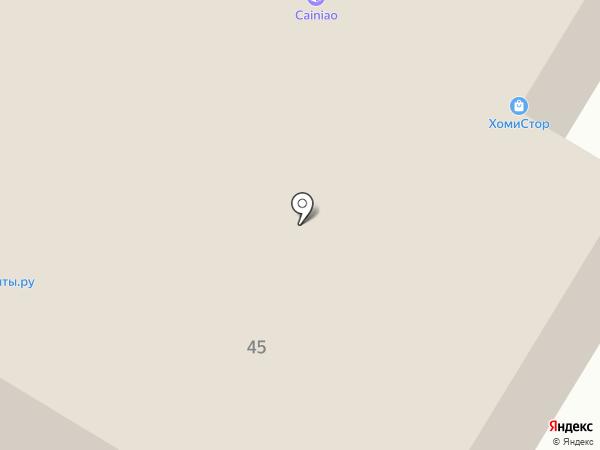 Эксмальт на карте Москвы