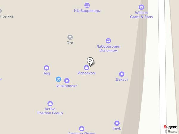 Крибрум на карте Москвы