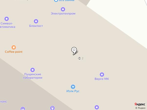 АКТЕРМ на карте Москвы