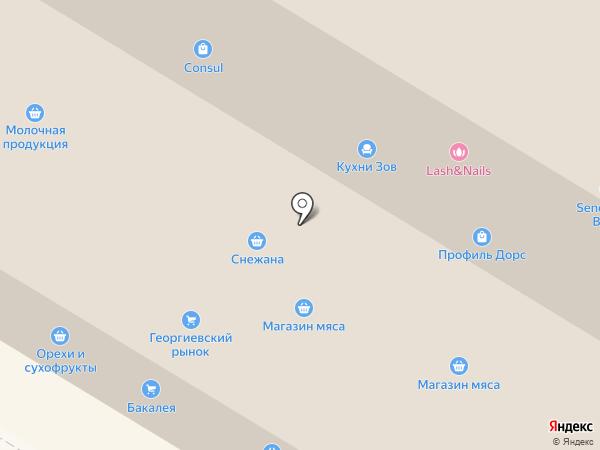 Черёмушки на карте Москвы