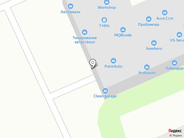 КапризАвто на карте Москвы