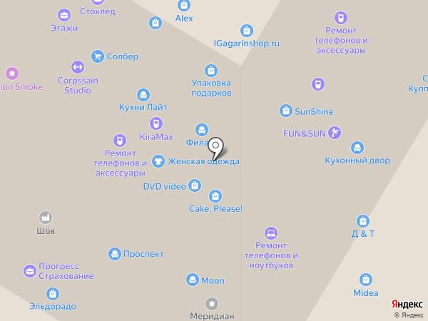 Gmobile на карте Москвы