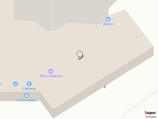 Шкатулка на карте Подольска