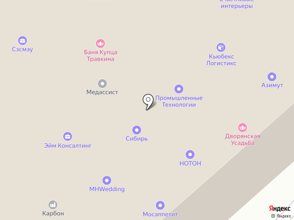 ЛАРС на карте Москвы