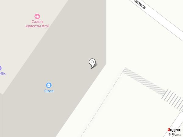 Верный на карте Подольска