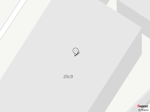 Слава на карте Москвы