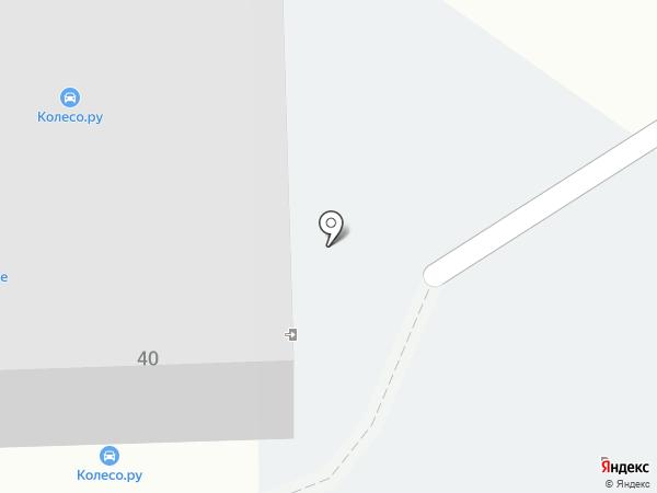 Колесо на карте Подольска