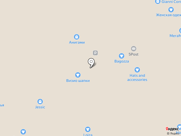 T.G.I. Friday`s на карте Москвы