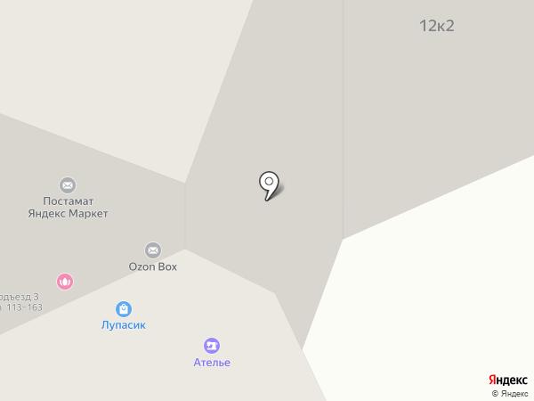 Ремонт об барского до царского на карте Москвы